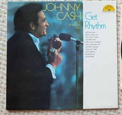 £5.99 • Buy JOHNNY CASH & THE TENNESSE TWO  GET RHYTHM LP SUN Records 6467014