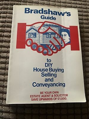 Bradshaws Guide To Diy House Buying, Selling And Conveyancing • 0.50£