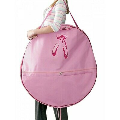 Looby Dancewear Ballet Shoes Pancake Tutu Zip Around Bag - Large • 45.99£