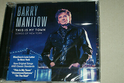 Barry Manilow ** This Is My Town: Songs Of New York  ** Cd Album  **  New Sealed • 2£