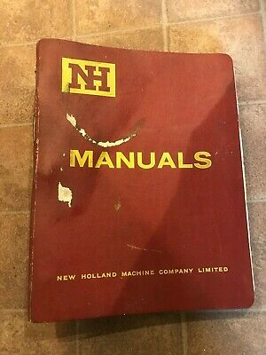 New Holland Farm Machinery Equipment Manuals And Servicing Information • 4£