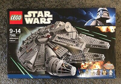 LEGO Star Wars Millennium Falcon 7965 100% Complete Unused Sticker Sheet • 160£