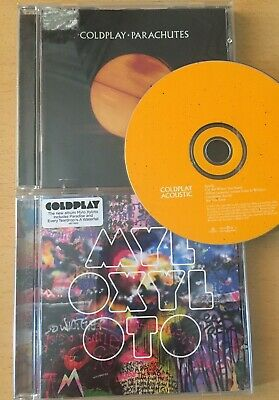 Cold Play . Parachutes / Myloxyloto / Acoustic . Cds • 1.49£