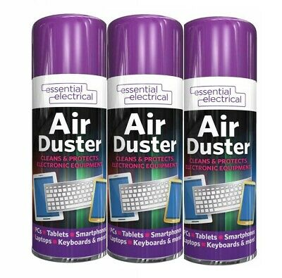 Air Duster Spray Compressed Aerosol Can Cleans Protects Mobile Keyboard 200ml  • 7.49£