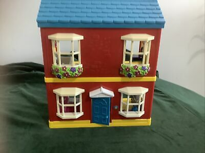 £39 • Buy Dolls House With Fitted Furniture And Sound  Effects  Possibly Happyland ELC TS