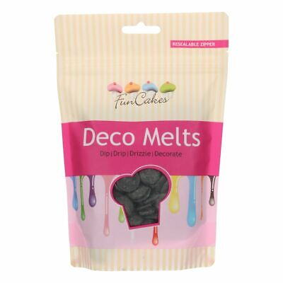 Candy Deco Melts Buttons Cake Pop - Black 250g • 6.99£