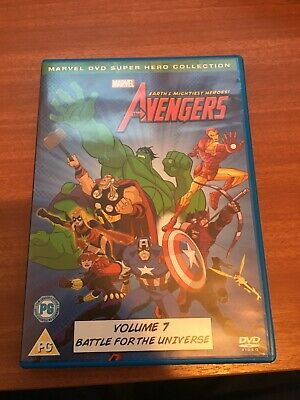 Marvel Earth's Mightiest Heroes The Avengers Vol. 7 DVD • 0.99£