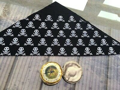 Childrens Fancy Dress Pirates Compass / Bandanna🌸 • 1.80£