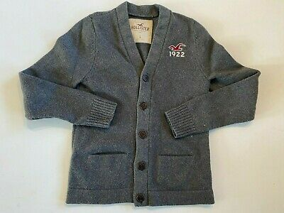 $25.49 • Buy Hollister Button Down Cardigan Knit Sweater Men's Large