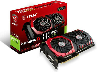 $ CDN158.82 • Buy Used MSI GeForce GTX 1070 Gaming 8GB Twin Frozr VI GDDR5 SLI DirectX 12 VR