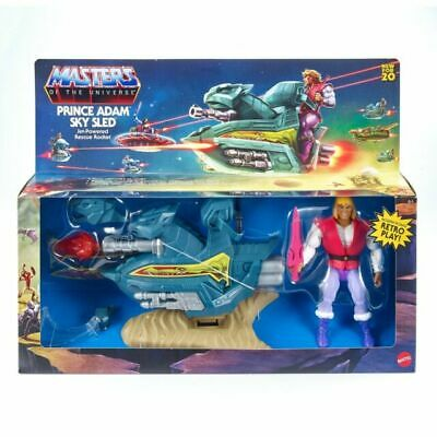 $50 • Buy Masters Of The Universe Origins PRINCE ADAM & SKY SLED Mattel NEW MOTU Retro