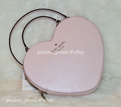 $ CDN449.79 • Buy 💚 Kate Spade Heart Crossbody Love Shack 3D Pink Tik Tok Valentines Day Bag NWT