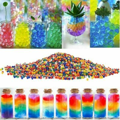 AU10.99 • Buy 100000pcs Crystal Water Balls Jelly Gel Beads For Vases Orbeez MultiColor AU