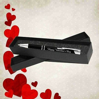 AU10.45 • Buy Personalised Valentines Day Gift Engraved Metal Pen Gift Box Gift For Him Or Her