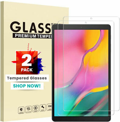 £3.47 • Buy 2 PACK Tempered Glass Screen Protector For Samsung Galaxy Tab A T510 T515 10.1in