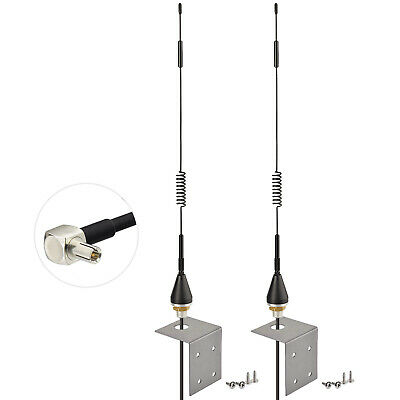 AU27.01 • Buy 2 X 4G 3G LTE External Bracket Mount Antenna TS9 For HUAWEI B818 B818-263 Router