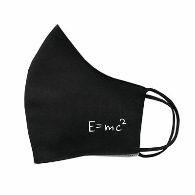 $ CDN9.83 • Buy Einstein EMC2 Equation Protective Covering Washable Reusable Breathable Maths