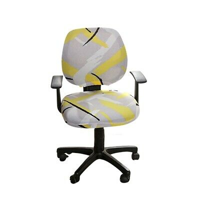 AU7.40 • Buy Office Chair Cover Computer Desk Swivel Chair Slipcover Study Seat Cover Printed
