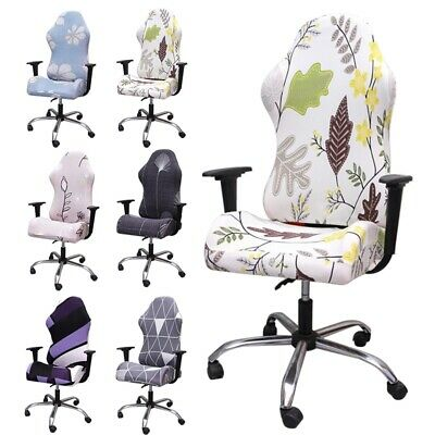 AU24.94 • Buy 1PC Swivel Computer Gaming Chair Cover Stretch Office Chair Slipcovers Protector