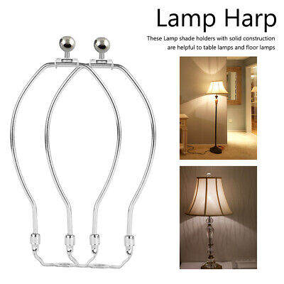 2 Pack Iron Plating Lamp Harp Holder 7/8/9 Inch For Table And Floor Lamps UK • 10.31£