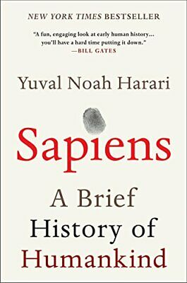 AU21.93 • Buy Sapiens: A Brief History Of Humankind By Yuval Noah Harari (Paperback, English)
