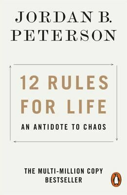 AU20.57 • Buy 12 Rules For Life: An Antidote To Chaos By Jordan B. Peterson (2019, Paperback)