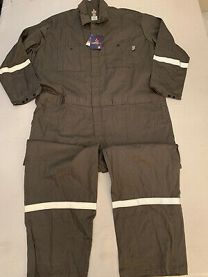 $79.99 • Buy NWT Lapco FR Flame Resistant Coveralls Jumpsuit CAT 2 Gray 3XL Reg New $149