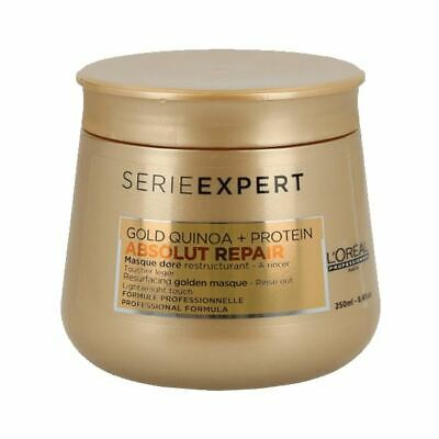 L'Oreal Absolut Repair Mask Gold Quinoa + Protein 250ml • 18.40£