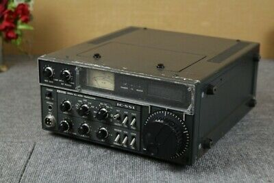 Icom IC-551 VHF All Mode Radio Transceiver Junk Parts Black Vintage • 395.42£