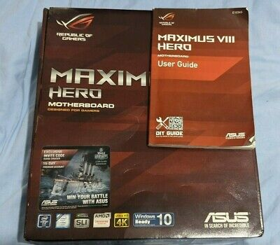 Gaming Motherboard CPU And Memory Bundle Intel I7-6700k, Asus Maximus VIII Hero • 275£