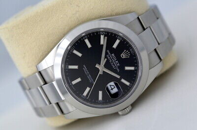 $ CDN11370.63 • Buy Rolex Datejust 41 126300 Automatic Watch Black Dial (2020)