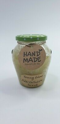 Young Glow Anti-cellulite Scrub Salt Oil Moinsturize Handmade 100% Natural  • 6.99£