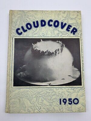 $50 • Buy Cloudcover Air Force ROTC Camp Robins AF Base George 1950 Yearbook Book