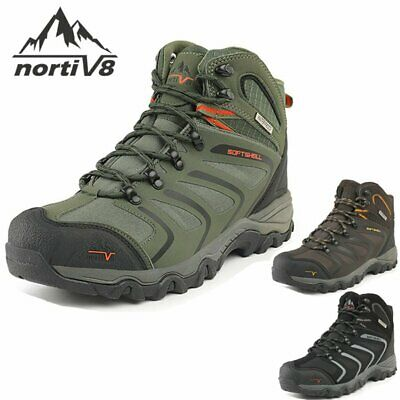 £29.99 • Buy Mens Waterproof Ankle Boots Lightweight Walking Hiking Trail Boots Shoes Size UK