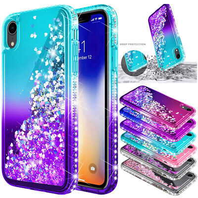 £3.96 • Buy Glitter Bling Case Liquid Quicksand Cover For Huawei P20 P30 Mate 20 Pro Lite