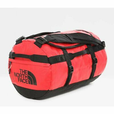 The North Face Base Camp Duffel S Tnf Red Black Duffle Bag New Suitcase Handbag • 106.80£