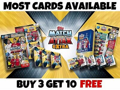 £0.99 • Buy Match Attax Extra 19/20 - Base Cards/Rising Star/Extra Boost/Captain 2019/20
