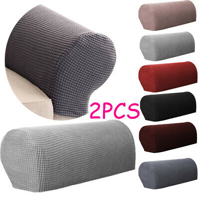 £6.98 • Buy 2 PCS Removable Arm Stretch Sofa Couch Chair Protector Armchair Covers Armrest