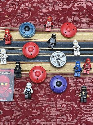 £36.99 • Buy Lego Ninjago Spinners And Mini Figure Bundle. Look At Photos For Identification
