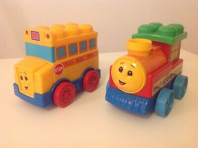£10.95 • Buy Mega Bloks First Builders Train And Bus Connect To First Builders Bricks Blocks