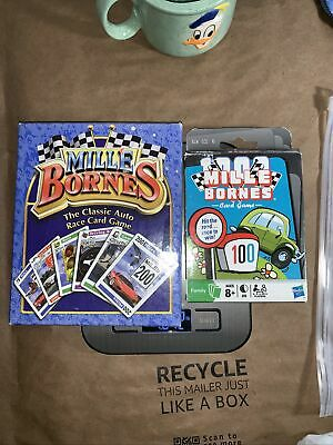 $19.89 • Buy COMPLETE Mille Bornes Classic Auto Race Card Game France 2003 Winning Moves Lot