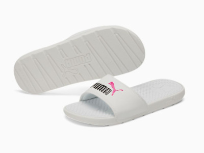 AU34.85 • Buy Nwt Puma Cool Cat Slides Slide Sandals White Knockout Pink Womens Size 8