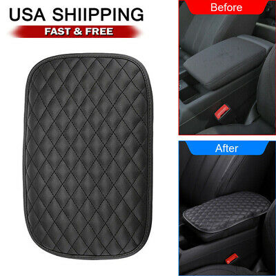 $6.57 • Buy Car Accessories Armrest Cushion Cover Center Console Box Pad Protector Universal