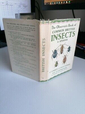 £13.99 • Buy Observer's Book Of Common Insects 1953 1st Edition