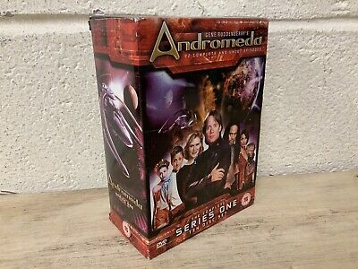 Andromeda - The Complete And Uncut Series One (DVD Box Set) (L24) • 24.99£