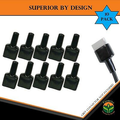 AU23.95 • Buy For Anderson Plug Rear Cover Style Connectors 50AMP Battery  Black Dust Cap 10x