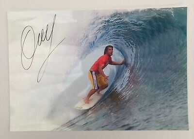 AU99 • Buy Mark Occy Occhilupo Signed Surf Photo With Certificate # WHOLESALE LOT #