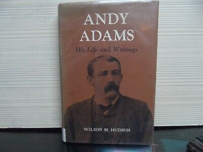 AU13.35 • Buy Andy Adams - His Life And Writings - 1964 - By Wilson M Hudson - Hardcover
