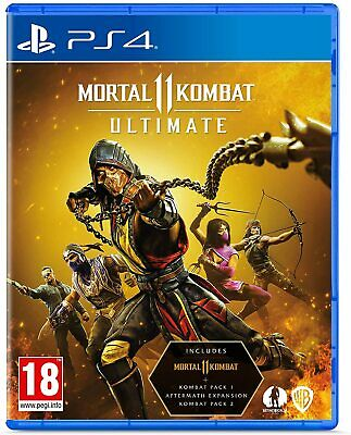 AU79 • Buy Mortal Kombat 11 Ultimate PS4 Playstation 4 Brand New Sealed