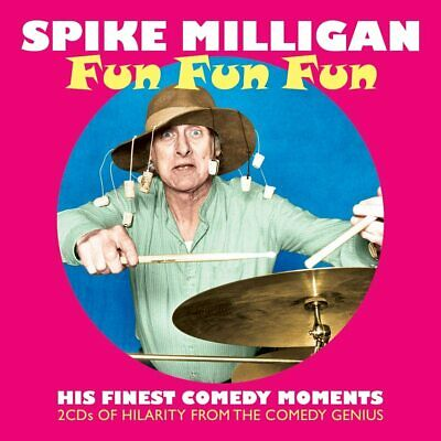 Spike Milligan  Fun Fun Fun: His Finest Comedy Moments  NEW & SEALED 2CD Set • 4.99£